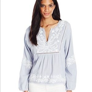 MISA Los Angeles Embroidered Top